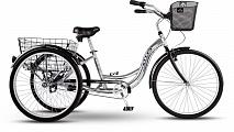 """Велосипед Stels Energy I 26"""" V020 Серый/Черный (с корзиной)"""